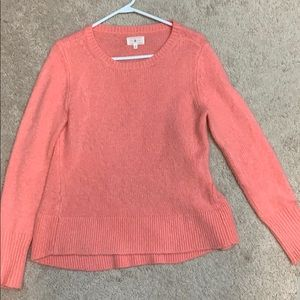 Lou & Grey pink/coral sweater